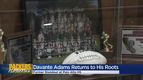 Packers WR Davante Adams returns to his roots