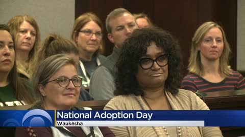 Children join forever families in Waukesha during National Adoption...