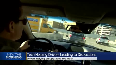 People who regularly use driver-assistance tech are more likely to be distracted, research shows