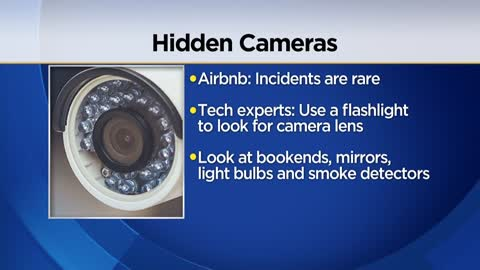 Should we be searching for hidden spy cameras in Airbnbs and...