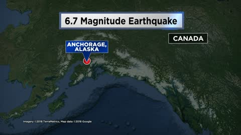 Major damage reported in Anchorage after 7.0 earthquake