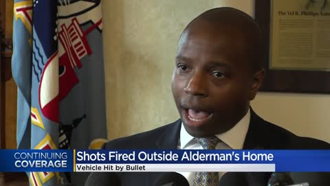 Milwaukee Alderman Cavalier Johnson's vehicle struck by gunfire