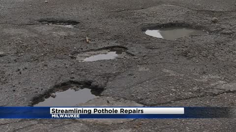 Milwaukee Alderman Khalif Rainey pushing for proactive approach to repairing potholes