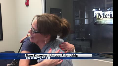 Rare disorder, unique friendship and the call to action today on the CBS 58 News at 4