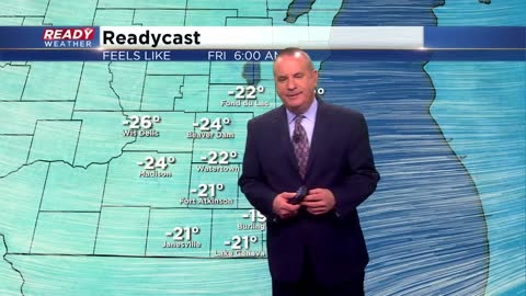 Friday Morning Weather Update:  Lots more winter weather coming soon