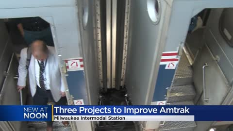 """Ridership is soaring:"" Improvement projects announced for Amtrak's Hiawatha line"