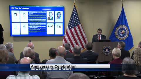 """From fugitives to organized crime:"" FBI Milwaukee field office celebrates 100 years of protecting citizens"