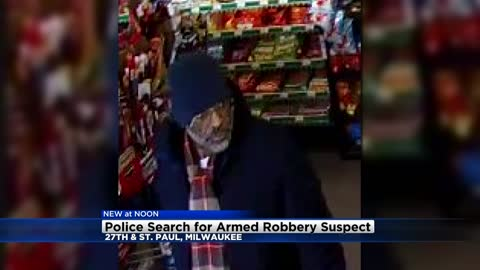 Milwaukee Police looking for robbery suspect