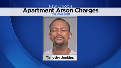 Milwaukee man charged with setting apartment on fire that displaced 64