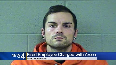 Disgruntled employee charged with lighting Menomonee Falls body...