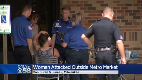 ' Woman attacked outside of east side Metro Market