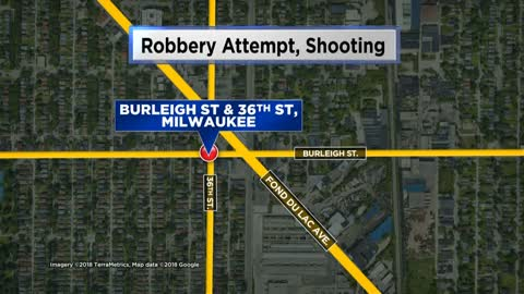 Man shot and wounded during attempted robbery in Milwaukee