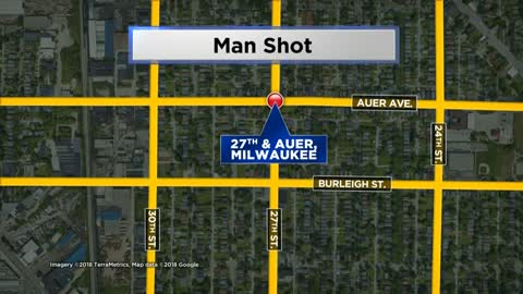MPD looking for suspect after man shot in car near 27th & Auer