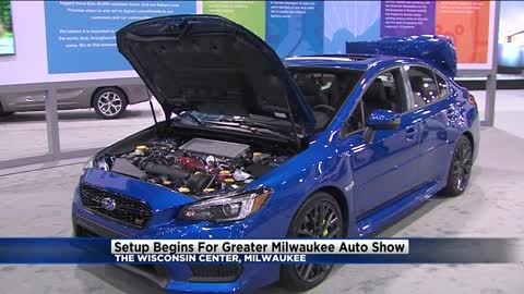 Greater Milwaukee Auto Show takes over the Wisconsin Center this weekend