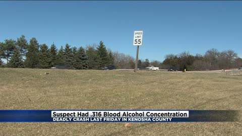 UPDATE: Suspect in triple fatal Kenosha County crash had BAC nearly four times the legal limit