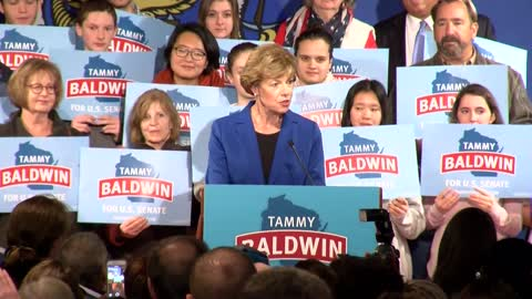 Special Report: US Senator Tammy Baldwin's plans for the future