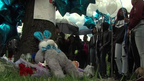 Family releases balloons to remember teen found dead