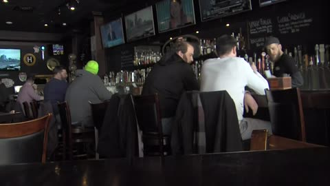 Wind chill discount offered at Brass Tap Bar in Greenfield