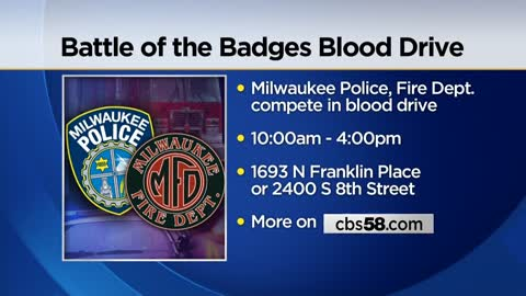 Red Cross to host annual Battle of the Badges Blood Drive in...