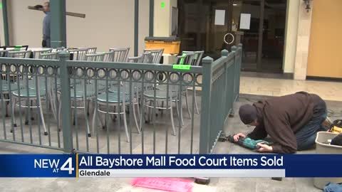 Bayshore Mall food court auction results in about $30K in sales