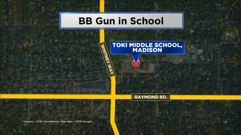 Police: Student arrested for bringing BB gun to Madison middle school