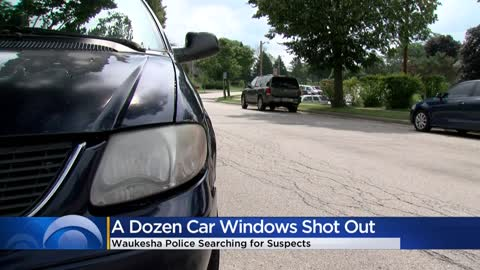 Waukesha Police asking for surveillance video, information after car windows shot out with BB gun