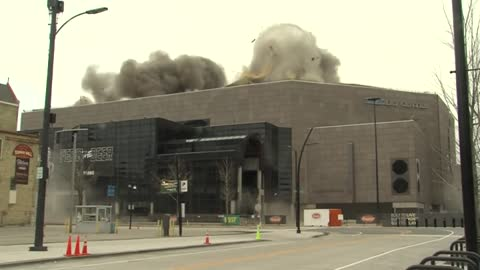 New video shows roof demolition from inside Bradley Center