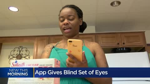 """ App helps visually impaired see through volunteer's eyes"