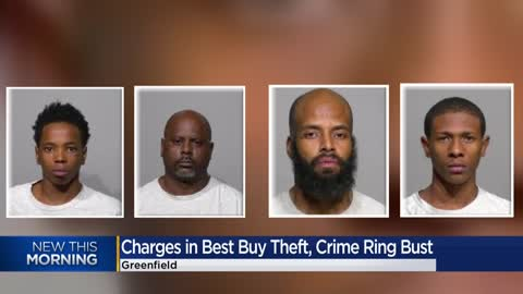 Men charged in Greenfield Best Buy burglary, believed to be part of larger crime ring