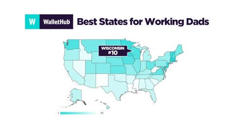 "Wisconsin ranked in top ten for ""Best States for Working Dads"""