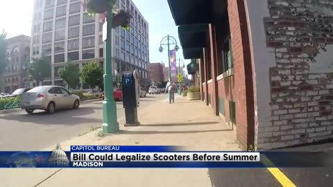 Bill could legalize electric scooters before summer
