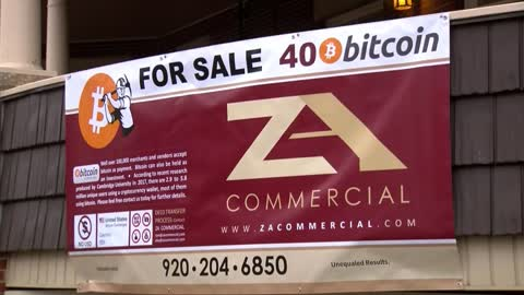 Local man selling home, asking for Bitcoin