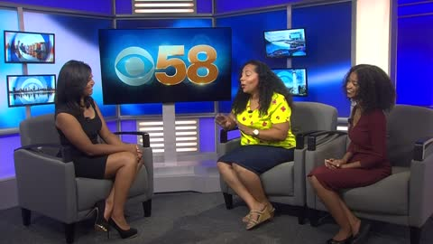 Organizers of Black Educator's Ball appear on CBS 58 News at 9