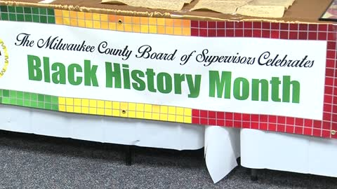 Milwaukee County Board holds Black History Month presentation