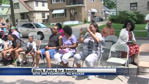 Family holds block party for community in honor of Bennie Bennett, man killed one year ago
