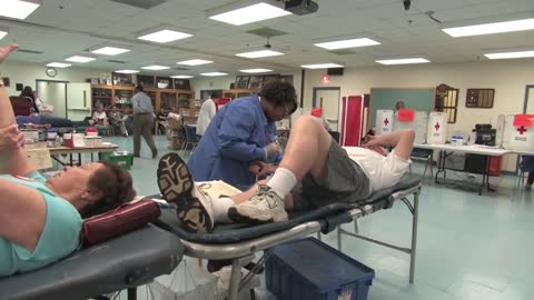 Blood donations down 61,000 past two months