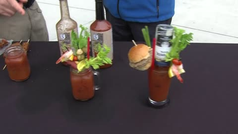 Bloody Mary Festival being held this weekend at Fiserv Forum