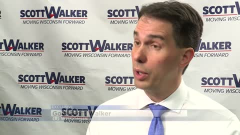 "Walker shifts campaign strategy in response to potential ""blue wave"""