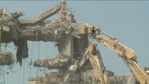 Last sections of BMO Harris Bradley Center demolished