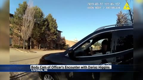 Police release bodycam footage of Officer's encounter with...