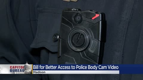 Officials consider bill providing better access to police body...