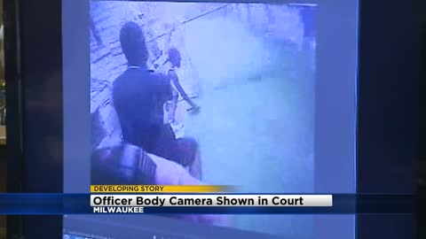 Body camera footage of fatal shooting of Sylville Smith shown during Heaggan-Brown trial