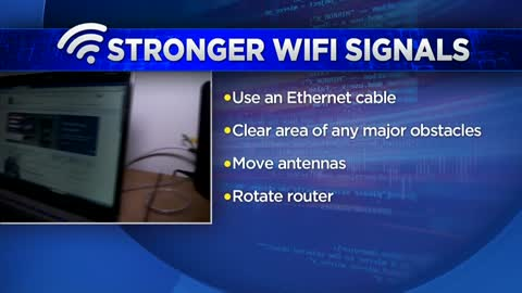 Tips for getting a stronger WiFi signal
