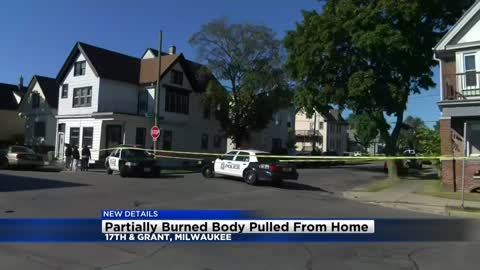 Police arrest woman after boy's body is found partially burned in south side Milwaukee home