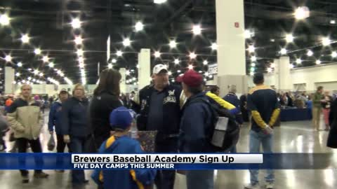Dates for Brewers Baseball Academy announced