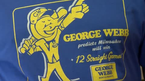 George Webb celebrating Brewers Opening Day by bringing back 5 for $5 burger deal