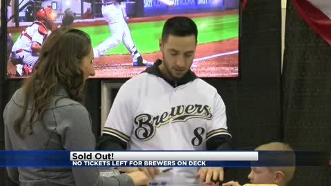 Winter fan festival 'Brewers on Deck' officially sells out