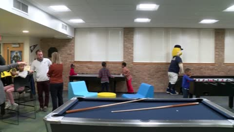 Brewers game room unveiled at Pieper-Hillside Boys & Girls Club