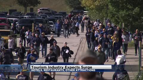 Tourism industry expects surge in hotels, restaurants thanks to Brewers