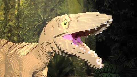 """Brick Dinos"" display opening at Milwaukee County Zoo this..."